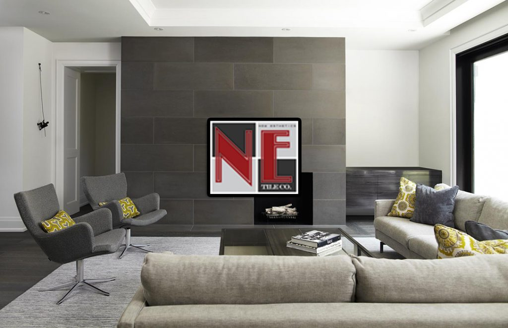 Fireplaces Livingroom Floors Walls Installation N E Tile Company